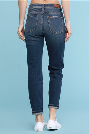 Cora Button Fly Boyfriend Jeans - Altered Apparel Boutique