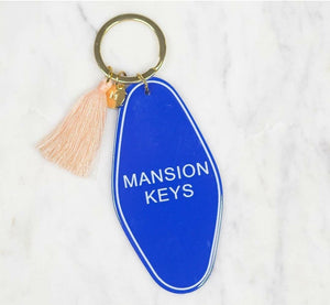 Mansion Keychain - Altered Apparel Boutique