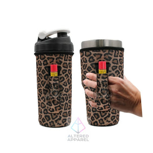Leopard Print 30oz Handler - Altered Apparel Boutique