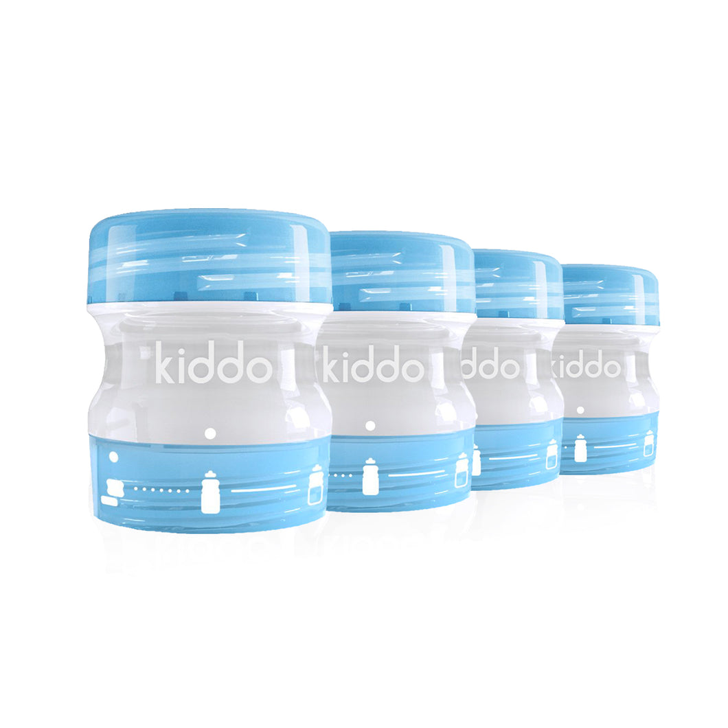kiddo'z by kiddo - Pack x4 - Bleues