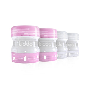 kiddo'z by kiddo - Pack x4 - Roses & Transparentes