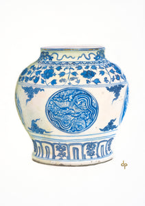 Chinese Wine Jar from Ming Dynasty