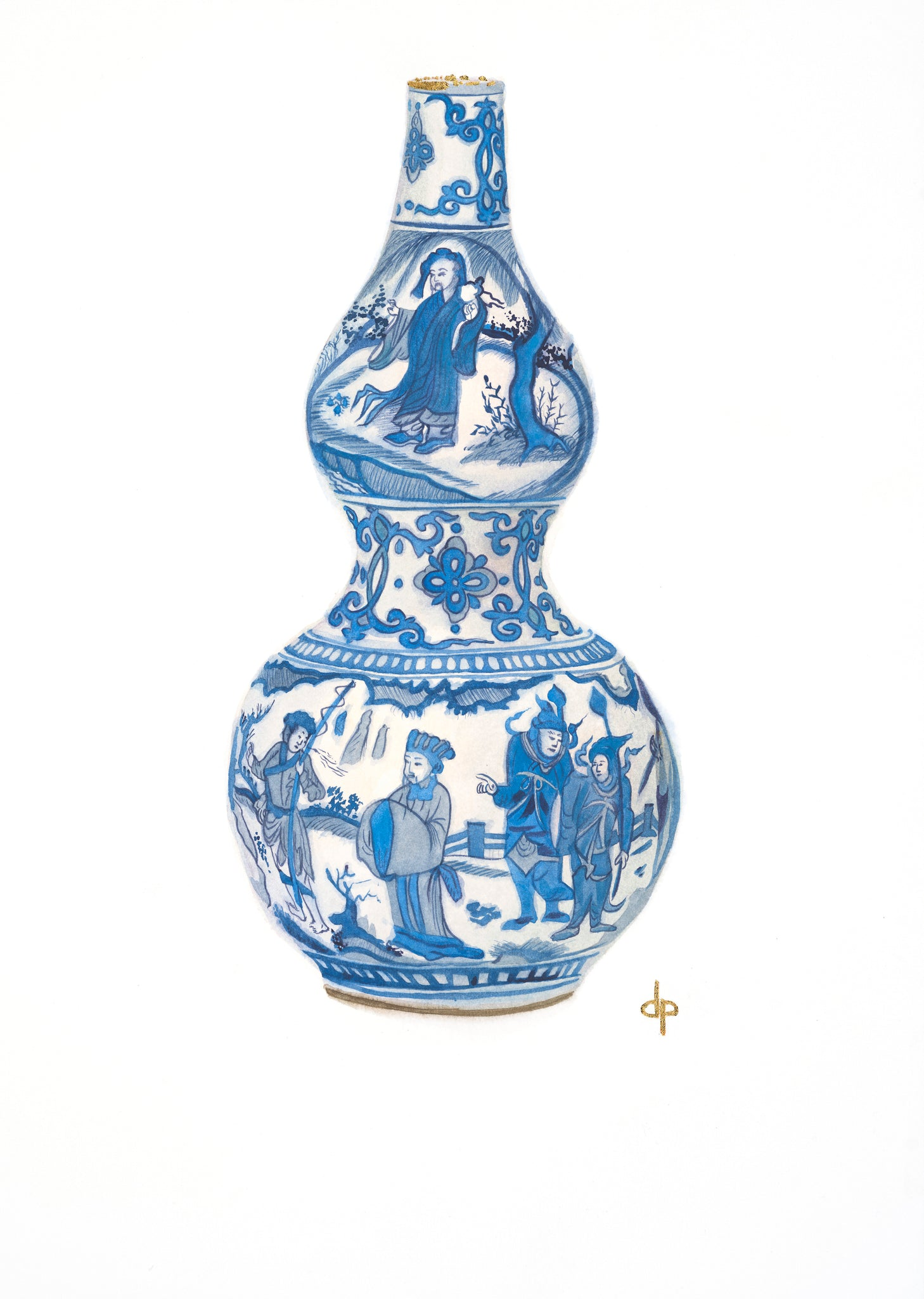 Double Gourd Ming Dynasty Vase