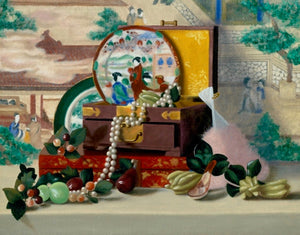 Still Life With Jade Fruit