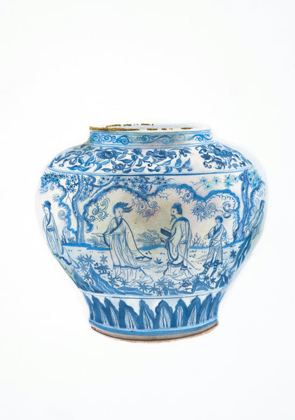 Jingdezhen Wine Jar from the Collection of the Victoria and Albert Museum