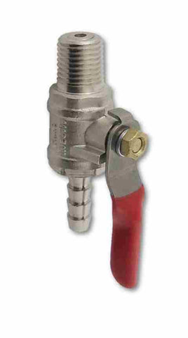 Shut Off Valve 1/4MPT x 1/4Barb