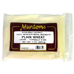 Muntons Plain Wheat Spr Malt 2#