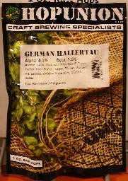 German Hallertau Leaf Hops