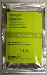 Safebrew S-33 Dry Yeast