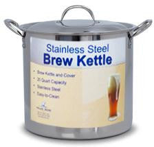 Brew Kettle Stainless 20 qt