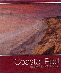 Costal Red Wine Labels