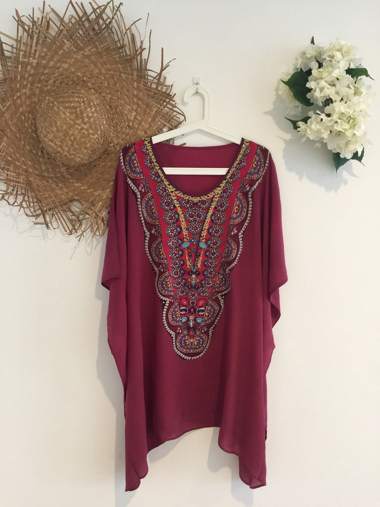 Mulberry Kaftan Short