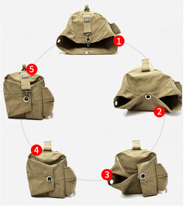 Canvas Backpack / Top-Loading Duffel Bag | 2 Sizes | 3 Colors