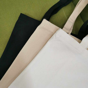 Avocado Canvas Tote Bag | 3 colors x 3 designs - ECOcharming.com