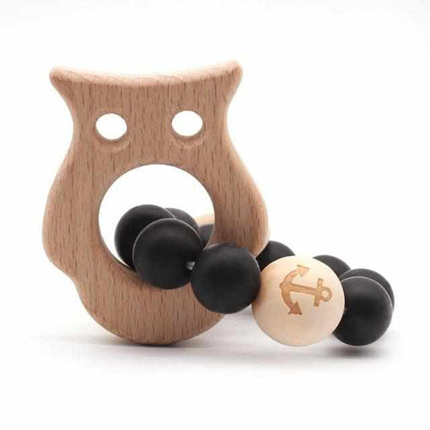 Image of Baby Teether | Organic Wood - ECOcharming.com