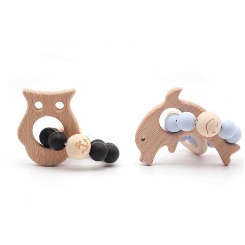 Baby Teether | Organic Wood - ECOcharming.com