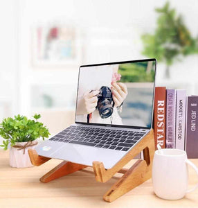Bamboo Laptop Stand - ECOcharming.com