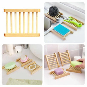 Bamboo Soap Tray - ECOcharming.com