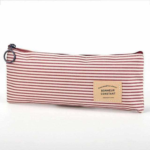 Canvas Pencil Case / Accessory Pouch - ECOcharming.com
