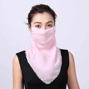 Face Mask Cover | Chiffon Scarf | 2020 Collection - ECOcharming.com