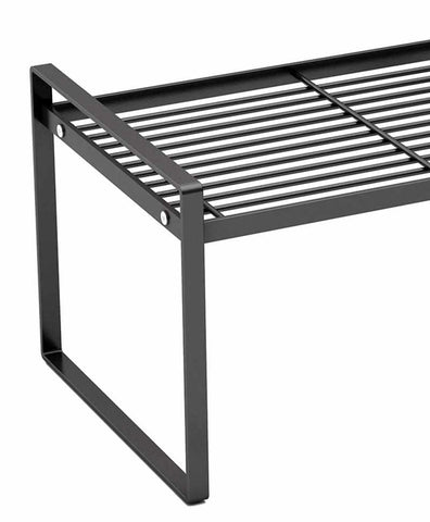Minimalist Kitchen Rack | Stainless Steel | Black - ECOcharming.com