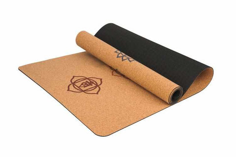 Image of Natural Cork Yoga Mat | For all Exercises | Anti Slip - ECOcharming.com