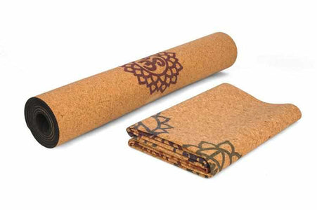 Natural Cork Yoga Mat | For all Exercises | Anti Slip - ECOcharming.com