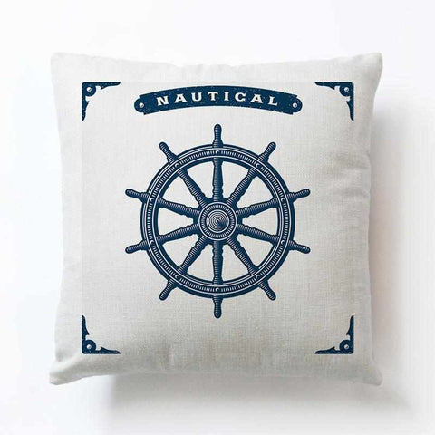 Nautical Pillow Cases | Vintage Style - ECOcharming.com