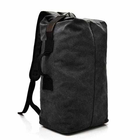 Image of Canvas Backpack / Top-Loading Duffel Bag | 2 Sizes | 3 Colors