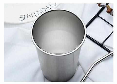 Reusable Coffee Mug / Tea Cup | Stainless Steel - ECOcharming.com