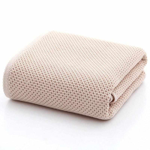 Supersoft Honeycomb Bath Towel | Pure Cotton - ECOcharming.com