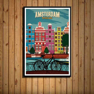 Travel Posters | City Posters | Vintage Retro Style - ECOcharming.com