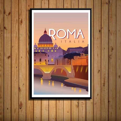 Image of Travel Posters | City Posters | Vintage Retro Style - ECOcharming.com