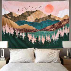 Wall Hanging Tapestry | Beautiful Landscapes | Various Motifs & Sizes - ECOcharming.com
