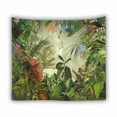Image of Wall Hanging Tapestry Prints | Tropical Designs | Various Motifs & Sizes - ECOcharming.com