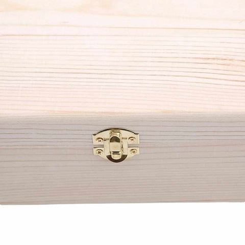 Image of Wooden Storage Box | Scots Pine - ECOcharming.com