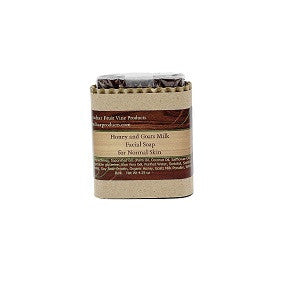 Honey and Goats Milk Facial Soap, Normal Skin