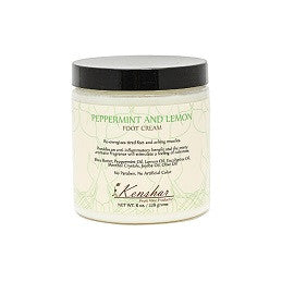 Peppermint and Lemon Foot Cream