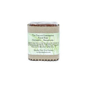 Tea Tree and Lemongrass Facial Soap, Antiseptic and Bacteriacide