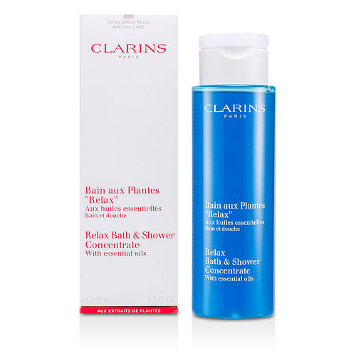 Clarins By Clarins Relax Bath & Shower Concentrate--200ml-6.8oz