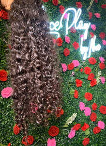 Raw Indian Temple Curly Extensions