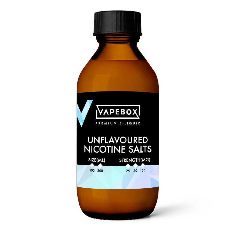 unflavoured nicotine salts