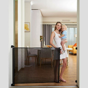 Retractable Gate, baby & Pets Safety Guard