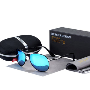 High Quality Male Polarized Brand Design Sun Glasses Oculos