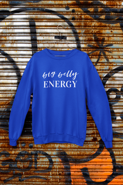Big Belly Energy Crewneck