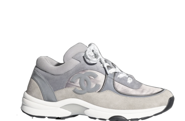 CHANEL RUNNERS CC LOGO 'DARK GREY & GREY' SNEAKER
