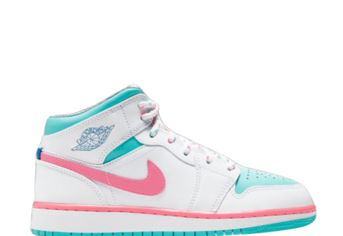 AIR JORDAN 1 MID 'DIGITAL PINK'