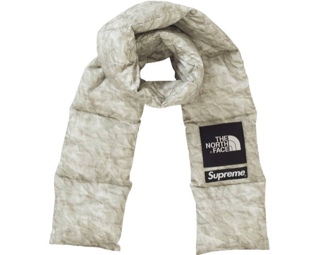 SUPREME X THE NORTH FACE 'PAPER NUPTSE' SCARF