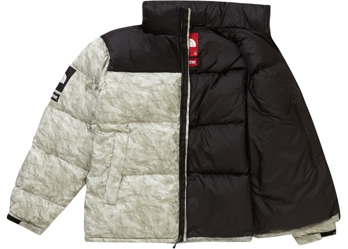Supreme X The North Face Paper Nuptse Jacket Copit