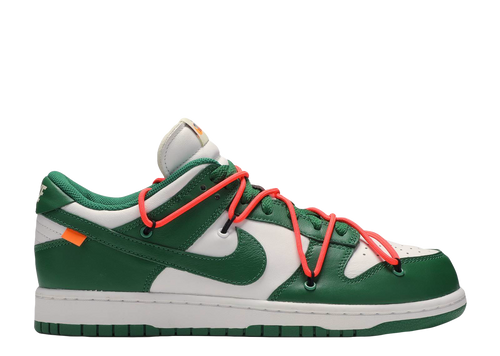 NIKE X OFF-WHITE 'DUNK LOW LTHR/OW' PINE GREEN
